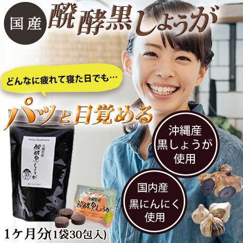 発酵黒しょうがサプリメント